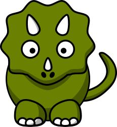 http://openclipart.org/detail/23511/cartoon-triceratops-by-studiofibonacci